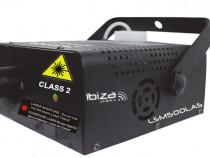 Ibiza LSM500LAS -Masina de fum cu laser