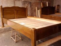 Confectionez la comanda paturi si mobiler din lemn de brad