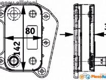 Radiator ulei mercedes sprinter (TERMOFLOT)- produs nou-TVA
