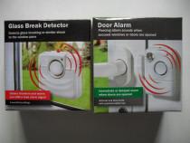 Alarma pentru usa si detector pentru geamuri sparte, germani