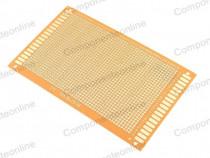 Cablaj de test, 90x150mm, textolit, simplu placat - 130602