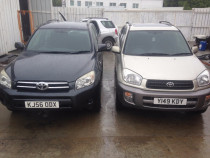 Dezmembrez Toyota Rav 4 VVTI si D4D