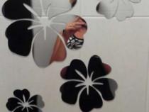 Stikere-Flori decorative cu efect de oglinda