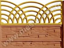 Gard din Beton Getic 1 - transport gratuit
