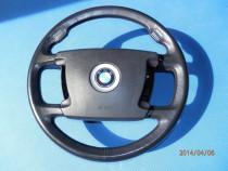BMW Seria7 E65 E66 E67 E68 Volan/Airbag 4spite Negru 2002-08