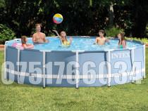 Piscina Familie Relaxare Rotunda Cadru Metalic 457 x 107cm