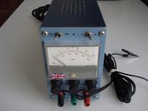 Sursa de alimentare reglab cu volt,amp la 0-50V / 0-0,5A (en