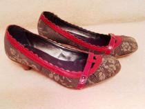 Pantofi Isabel Ferre 36 balerini sandale stiletto dama
