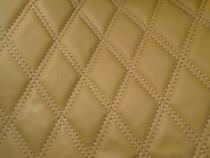 Material romb tapiterie bej / cusatura bej
