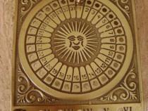Calendar din cupru