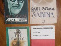 Cărți Paul Goma, Eugen Ionescu, Liviu Rebreanu