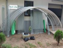 Solar metalic pentru legume si flori 26 m lungime /4 m desch