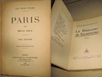 Carti franceze vechi coperti simple. Lot1- 14 buc.