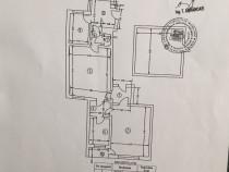 Piata -romana, apartament 2 camere in bloc interbelic