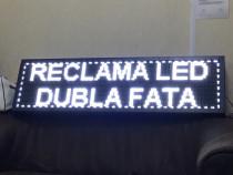 Reclama led luminoasa -panou programabil pe 4-5 randuri !
