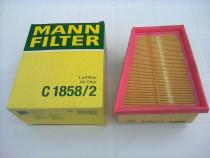 Filtru aer LOGAN 1,6 DUSTER 1,6 Clio, Megane - Mann C1858/2