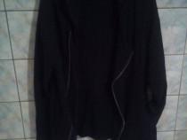 Hanorac Sport barbati oversize negru,Marime XL,Clockhouse