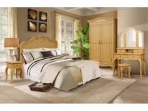 Dormitor lemn masiv Sara