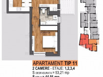 Apartament 2 camere 13 septembrie - marriott et 1/5