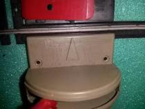 Defect decuplator manual vagoane 16.5 mm ho profil i lima