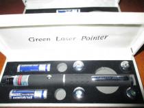Laser club bar verde cu 5 capete lumina verde