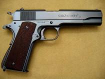 Pistol airsoft upgradat (putere dubla!!) colt adevarat co2