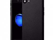 Iphone 7 7 Plus 8 8 Plus - Husa Slim Silicon Imita Piele