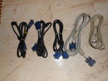Cablu VGA tata-tata 15 pini pentru conectare PC la monitor