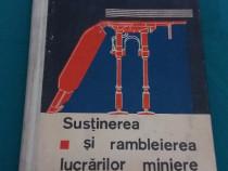Susținerea și rambleirea lucrărilor miniere/P. Rebreanu.