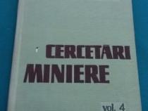 Cercetări Miniere/ vol. 4/1961