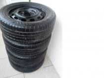 Set 4 Jante 5 x 114.3 R15 si 4 anvelope Nordica 195/55/15 MS