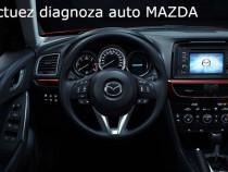 Efectuez diagnoza auto Mazda Mitsubishi si cu deplasare