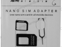 Adaptor cartele SIM, nano, micro SIM - 126515