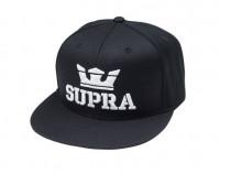 Supra Above Snapback Cap Black