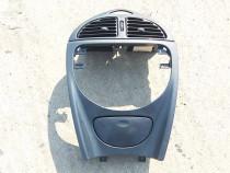 Consola centrala bord cu guri ventilatie Citroen C5 stare FO