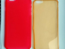 2x Carcasa silicon Apple iPhone 6 Plus - husa protectie spat