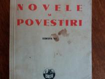 Novele si povestiri - I. L. Caragiale 1941 / R6P1S