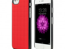 Husa Plastic Apple iPhone 6 6s Clip-on Red & Black NOU