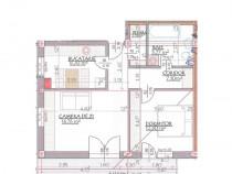 Apartament 2 camere in Calea Cisnadiei de 60 mp etaj 2