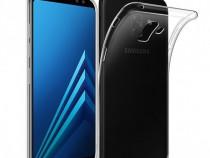 Samsung A8 2018 - Husa Ultra Slim Din Silicon Transparenta