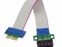 Cablu extensie ( riser ) PCI-e 1x la PCI-e 1x