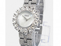 Ceas dama dior diamond rose premium silver-colectie 2018 !!