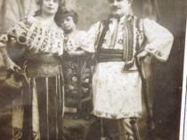 Fotografie-Familie de tarani romani Iasi 1907