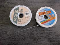 Fir pescuit rezistent 2 role 65 ml , 0,20 mm +0.22 mm