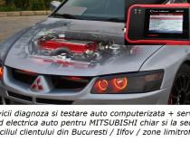 Diagnoza Mitsubishi cu tester auto + service la domiciliu