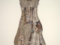Rochie noua, din bumbac, cu bretele, feminina, excentrica