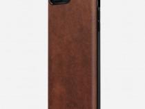 Husa piele iPhone 7, 8 Plus Nomad, Rugged Leather, maro