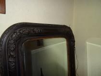 Oglinda venetiana ,veche(150 ani)-Sticla cristal