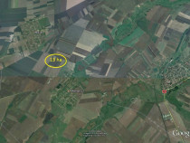 13 ha teren arabil - Manastur spre Mailat, com Vinga