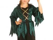Costum pentru serbari si petreceri-Vrajitoarea Gotica